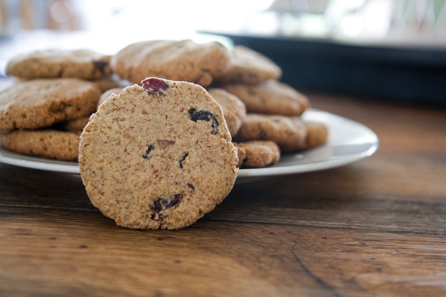 Maple Cranberry Cookies
