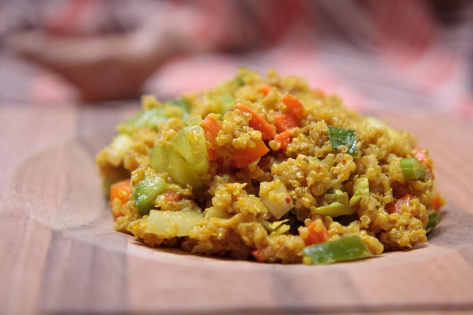 Jollof (Quinoa) Salad