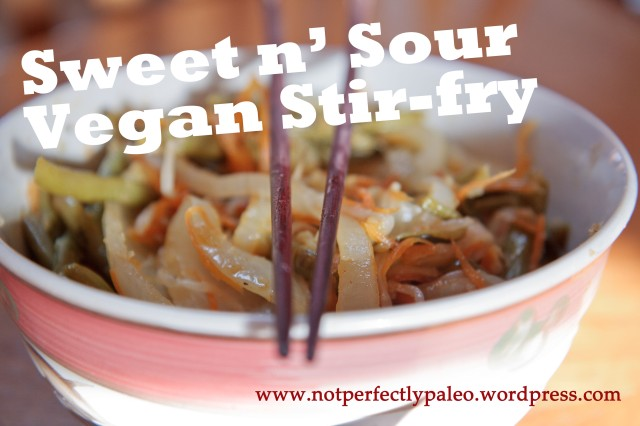 Sweet and Sour Vegan Stir-fry 5 copy