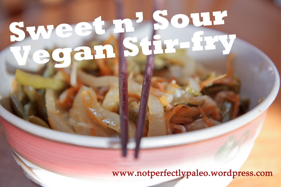 Sweet n' Sour Vegan Stir-fry