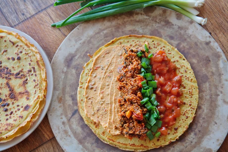 10 Minute Taco Shells – Vegan – Paleo – Glutenfree